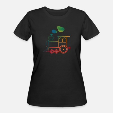 Trains Train - Women's 50/50 T-Shirt