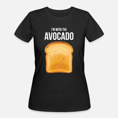 Toast Avocado Guacamole Vegan Vegetarian Fruit Healthy - Women's 50/50 T-Shirt