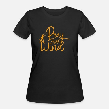 Windsurfing Prayers for Wind - Women's 50/50 T-Shirt