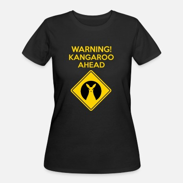 Road Sign Australia Kangaroo Sign Australia Road marsupial - Women's 50/50 T-Shirt