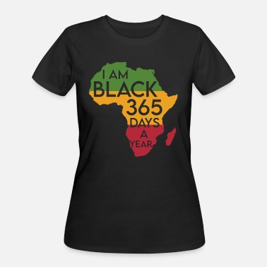 365 I am black 365 days a year black history - Women's 50/50 T-Shirt