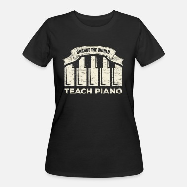 Gift For A Piano Teacher Piano teacher - Women's 50/50 T-Shirt