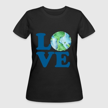 Love Earth Day - Women's 50/50 T-Shirt