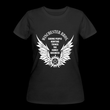 SAVING PEOPLE HUNTING THINGS SUPERNATURAL - Women's 50/50 T-Shirt