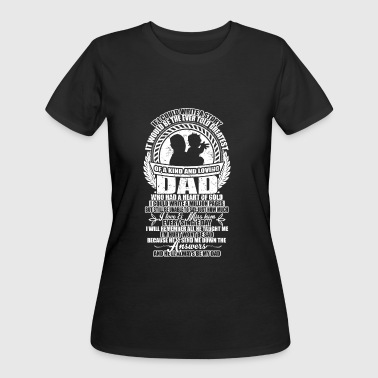 A Kind And Loving Dad T Shirt - Women's 50/50 T-Shirt