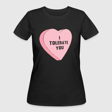 i tolerate you valentines day womens 5050 t shirt - Anti Valentines Day Shirts