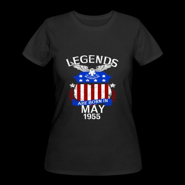 Legends Are Born In May 1955 - Women's 50/50 T-Shirt