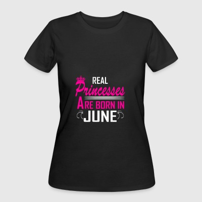June - Birthday - Princess - EN - Women's 50/50 T-Shirt