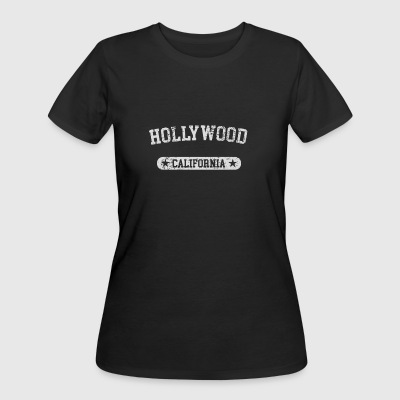 Hollywood California - Women's 50/50 T-Shirt