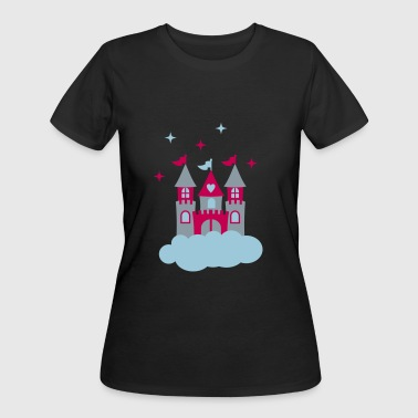 castle - Women's 50/50 T-Shirt