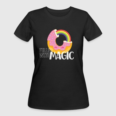 Donut - Filled with Magic - Women's 50/50 T-Shirt