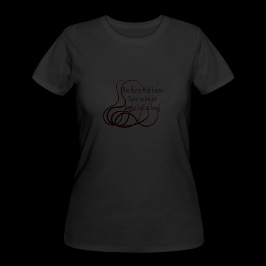 burn - Women's 50/50 T-Shirt