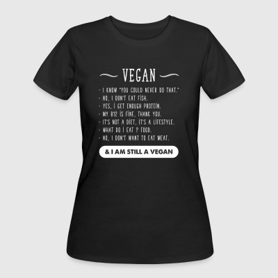 I am Still vegan - Women's 50/50 T-Shirt