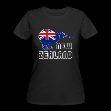 Kiwi Bird Tee Shirt - Women's 50/50 T-Shirt