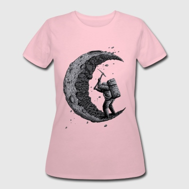 Digging the moon Funny - Women's 50/50 T-Shirt