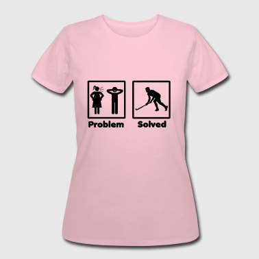 Problem Solved Hockey problem solved hockey eishockey - Women's 50/50 T-Shirt