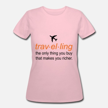 Quotes traveling - Women's 50/50 T-Shirt