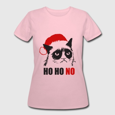Grumpy Urly christmas cat - Women's 50/50 T-Shirt