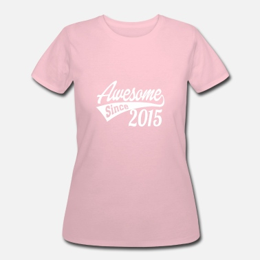 Wife Since 2015 Awesome Since 2015 - Women's 50/50 T-Shirt