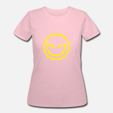 Gothic Game Funny Evil Smiley Face Gothic - Women's 50/50 T-Shirt