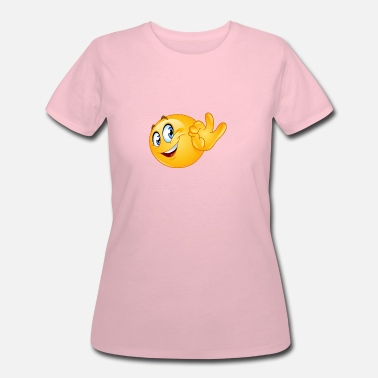 Ok Sign ok sign emoticon - Women's 50/50 T-Shirt