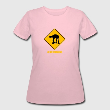 Crossed Comic AT-AT Crossing - Women's 50/50 T-Shirt