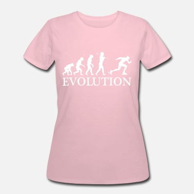 Speedskating SPEEDSKATER EVOLUTION OF MAN - Women's 50/50 T-Shirt