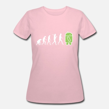Android Programming The Evolution to Android - Women's 50/50 T-Shirt