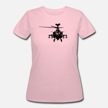 Helicopters Military Attach Helicopter Gunship - Women's 50/50 T-Shirt