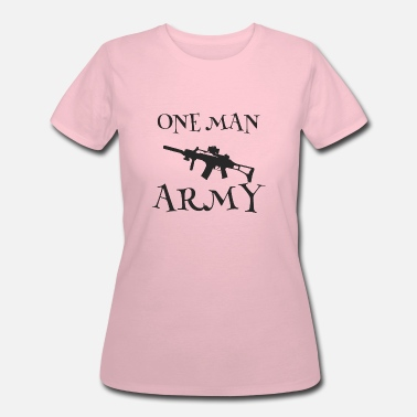 One Man Army one man army - Women's 50/50 T-Shirt