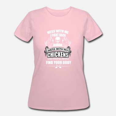 Fighting Chicken Killer Chicken - Murder and Fight - Women's 50/50 T-Shirt