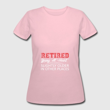 Retired Young At Heart Slightly Older - Women's 50/50 T-Shirt