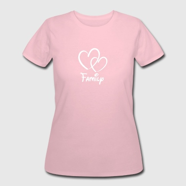 Heart Family - Women's 50/50 T-Shirt