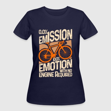 Environmentalist Cyclist Green Commuting - Women's 50/50 T-Shirt