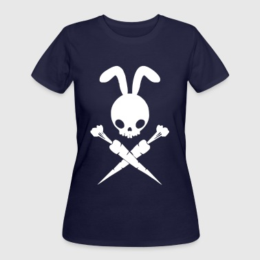 Bad Rabbit And Cross Carrots - Women's 50/50 T-Shirt