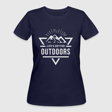 Outdoors - Women's 50/50 T-Shirt