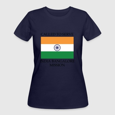 India Bangalore LDS Mission Called to Serve Flag - Women's 50/50 T-Shirt