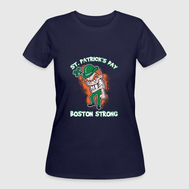St Patricks Day Boston St. Patrick's Day Boston Strong Vigorous - Women's 50/50 T-Shirt