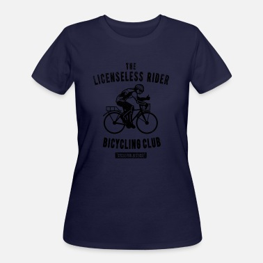 Hartz 4 the Licenseless Rider Bicycling club T Shirt - Women's 50/50 T-Shirt