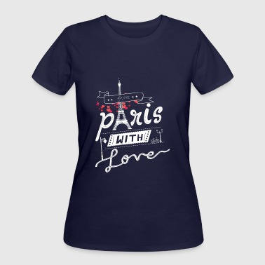 from paris with love white - Women's 50/50 T-Shirt