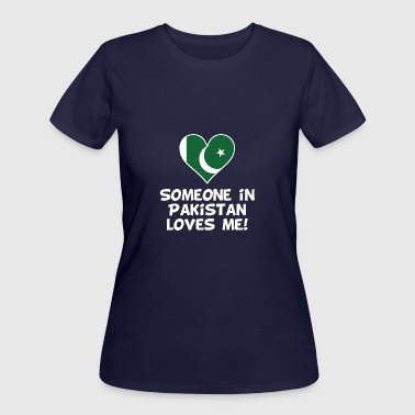 Kids Pakistan Someone In Pakistan Loves Me - Women's 50/50 T-Shirt