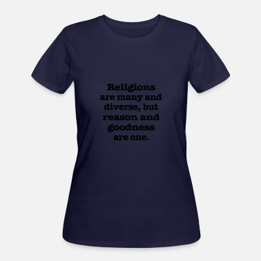 Fit Religion Religions - Women's 50/50 T-Shirt