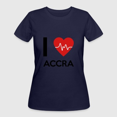 I Love Accra - Women's 50/50 T-Shirt