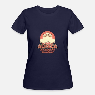 Huggable Alpaca - the huggable Investment - Women's 50/50 T-Shirt