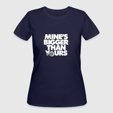 Mine Is Bigger Than Yours Mine s Bigger Than Yours - Women's 50/50 T-Shirt