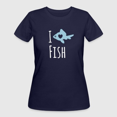 Fishing Lovers Fish Lover - Women's 50/50 T-Shirt