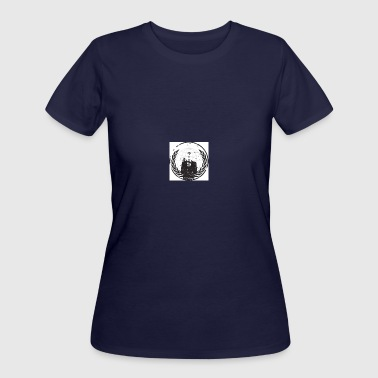 Blue Beam we are anonymous - Women's 50/50 T-Shirt