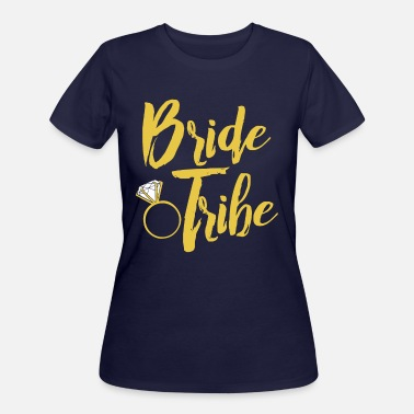 Wedding Party Bride Tribe Group Shirts - Women's 50/50 T-Shirt