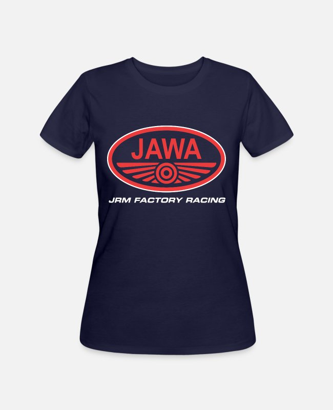 Ball T-Shirts - jawa logo - Women's 50/50 T-Shirt navy