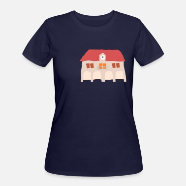 Town Hall Crooked Town Hall 1 - Women's 50/50 T-Shirt